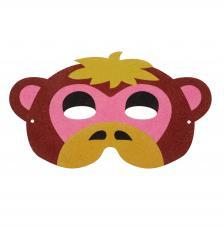 Máscara Carnaval Mono 26x16 cm