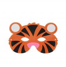 Máscara Carnaval Tigre 21x14 cm