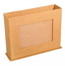 Caja portafotos de cartón 19,5x5,5x15 cm