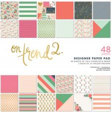 48 papeles 30,5 x 30,5 cm. On Trend 2