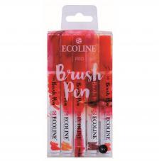 Estuche ecoline brush 5 Rojos. Colores: 334-237-318-441-311