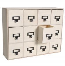 Mueble archivador 41,5x11x32,5 cm