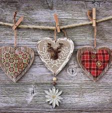 Servilleta corazones pinzas