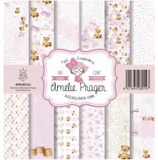 AGUGUTATA GIRL set 7 papeles