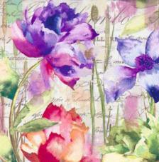 20 servilletas. Colores primavera