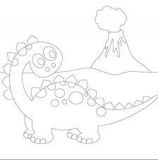 Dinosaurio 6. 20x20 cm Precortado