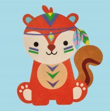 Lámina mascota 1 30x30 cm