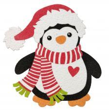 Silueta Pingüino 17 cm