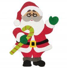 Silueta Papa Noel 18 cm