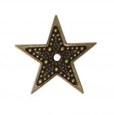 Mitform estrella puntos pequeña 23x23 mm