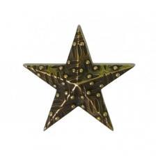 Mitform Estrella Chapa Pequeña 23x23 mm