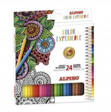 Estuche 24 lápices de colores Experience