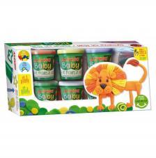 Mega Set Mi primera pasta blanda Baby Alpino 6x85 gr
