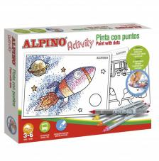 Pinto por puntos. Alpino Activity