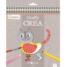 Cuaderno para colorear Graffy Créa Modulo 3D