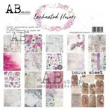 Enchanted Flowers AB STUDIO 30x30 8und. AB03