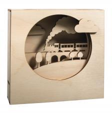 Marco 3D Tren 15,5x15,5x3,4 cm