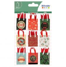 9 bolsas de regalo 3,5x3x1,3 cm