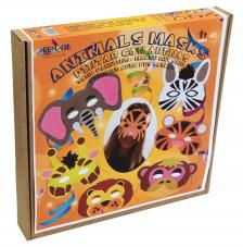 Pintar con arenas. Máscaras Carnaval Animales