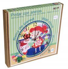 Pintar con arenas. Reloj Pastelera Ø30 cm