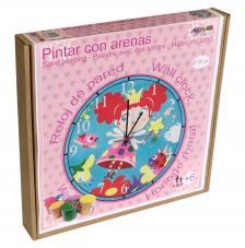 Pintar con arenas. Reloj Hada Ø30 cm