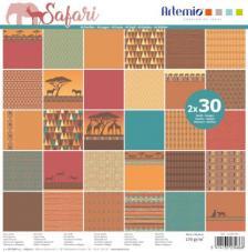 Bloc 60 papeles Safari de Artemio