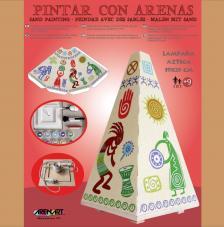 Kit Lámpara arenas Azteca