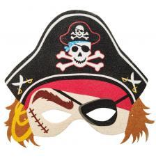 Máscara Carnaval Pirata Boy 1