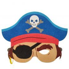 Máscara Carnaval Pirata Boy 3