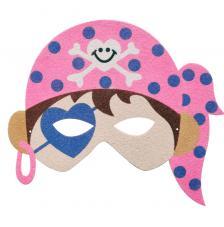 Máscara Carnaval Pirata Girl 1