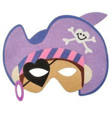 Máscara Carnaval Pirata Girl 2