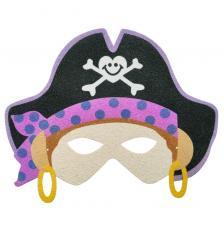Máscara Carnaval Pirata Girl 4