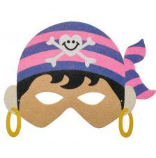 Máscara Carnaval Pirata Girl 3