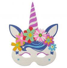 Máscara Carnaval  Unicornio 2