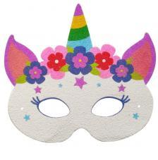 Máscara Carnaval Unicornio 3