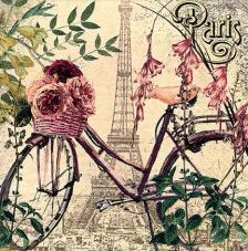 20 servilletas. Bici Vintage