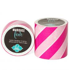 Masking Tape Marquee Love 5 cm. Rollo 2,7 m. Pink Strip