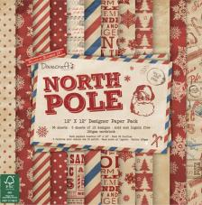 36 papeles 30,5 x 30,5 cm. North Pole