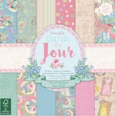 36 papeles 30,5 x 30,5 cm. Couture Du Jour