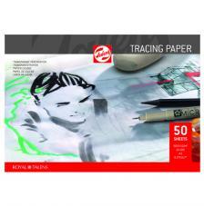 Bloc papel vegetal Talens 50 hojas 90 g/m2. A4