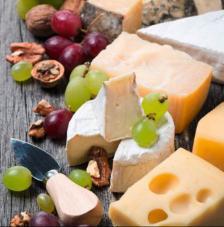20 Servilletas. Queso, uvas y nueces