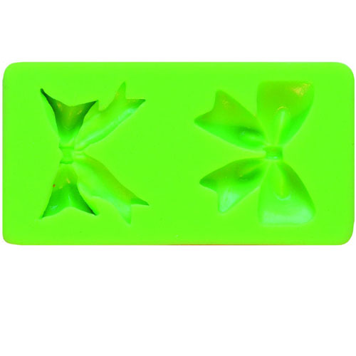 Molde silicona lazos 8,7x4,5 cm