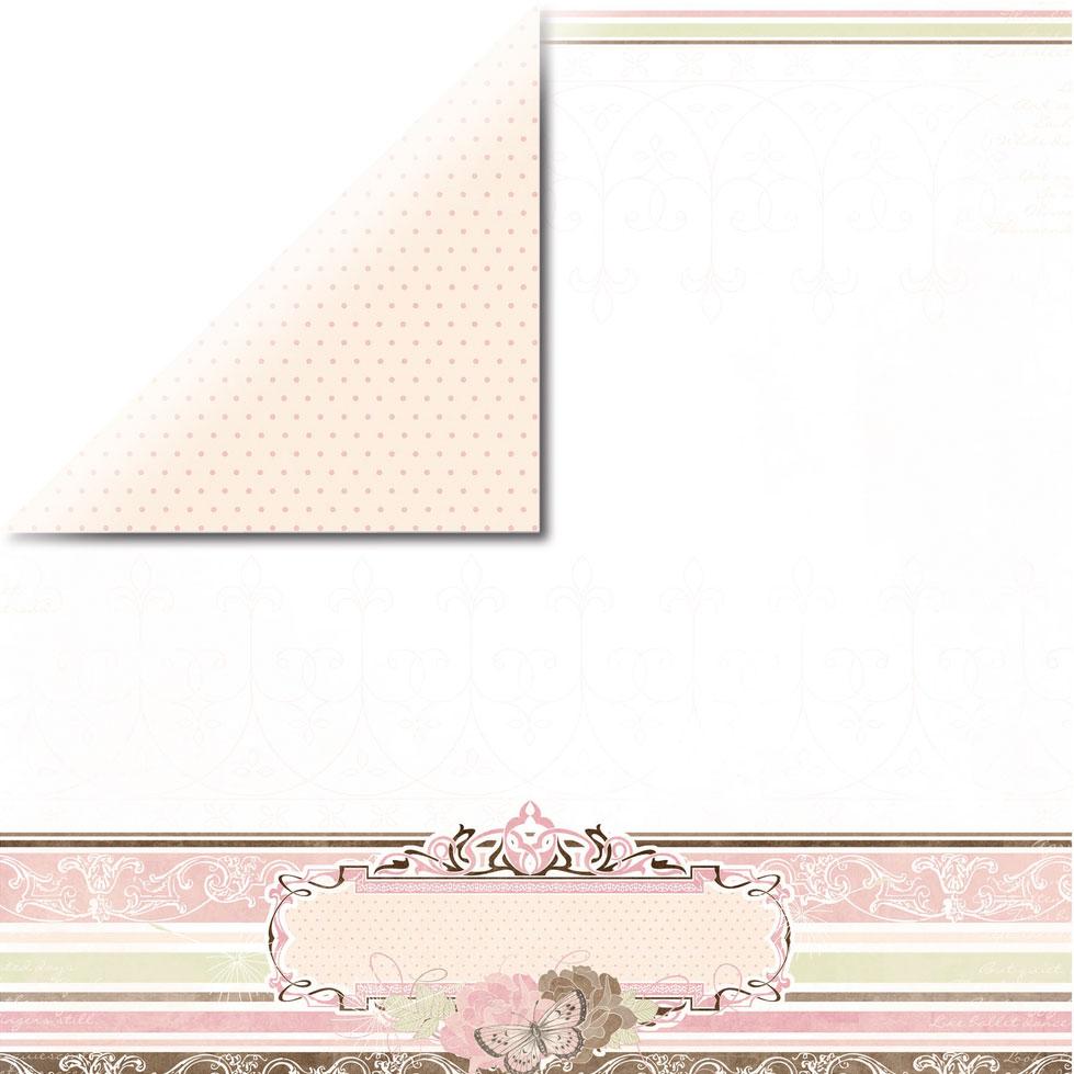 Paper doble cara 30,5 x 30,5 cm. Cottage