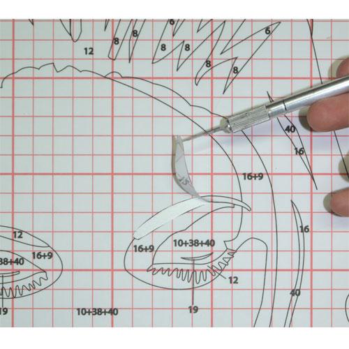 Cutter scalpel type