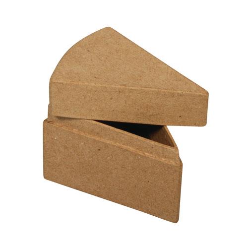 2 porciones pastel de carton 8x6x5,5 cm
