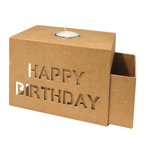 Caja carton cumpleaños 15x10,5x10 cm