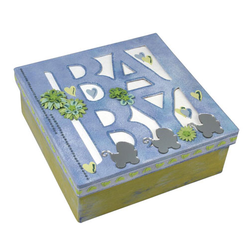 Caja carton Baby 16x16x6 cm
