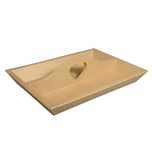Bandeja carton 30x22x7 cm