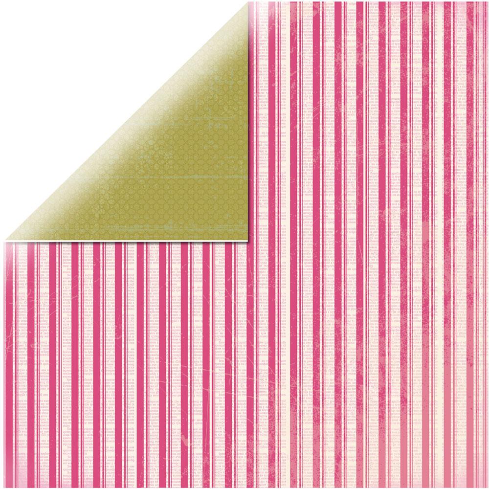 Papel doble cara 30,5 x 30,5 cm. Road Postage