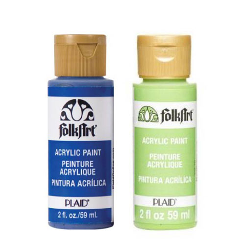 Folkart 59 ml - Verdes y azules
